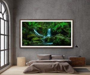 horseshoe falls tasmania photo