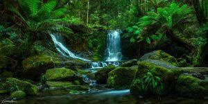 horseshoe falls tasmania landscape photography