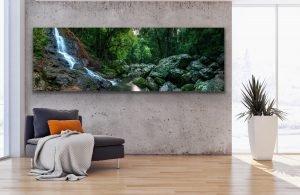 kondalilla falls panoramic landscape photography