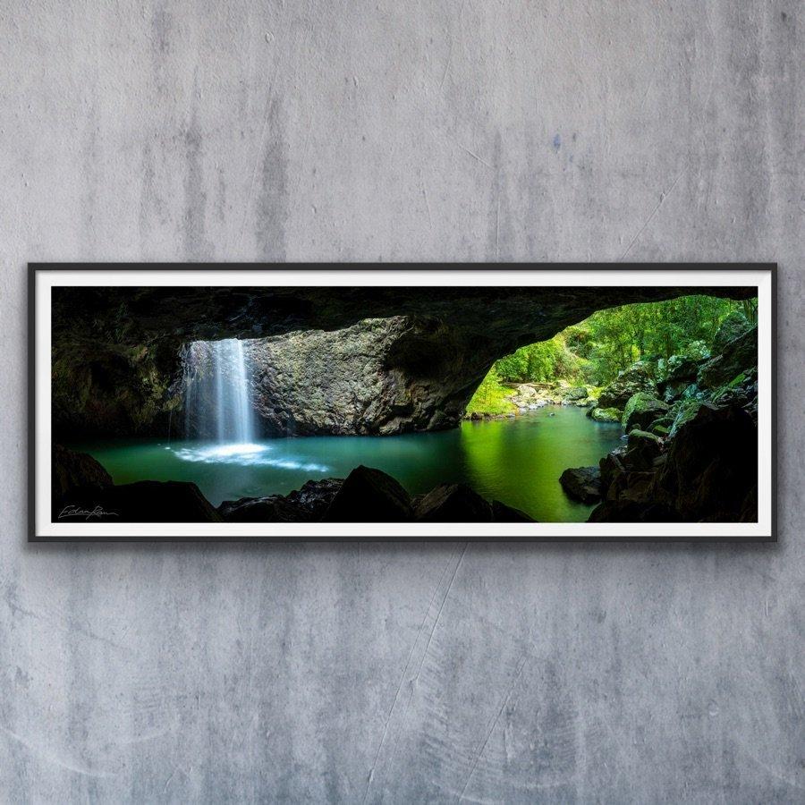 gold coast natural bridge landscape photography