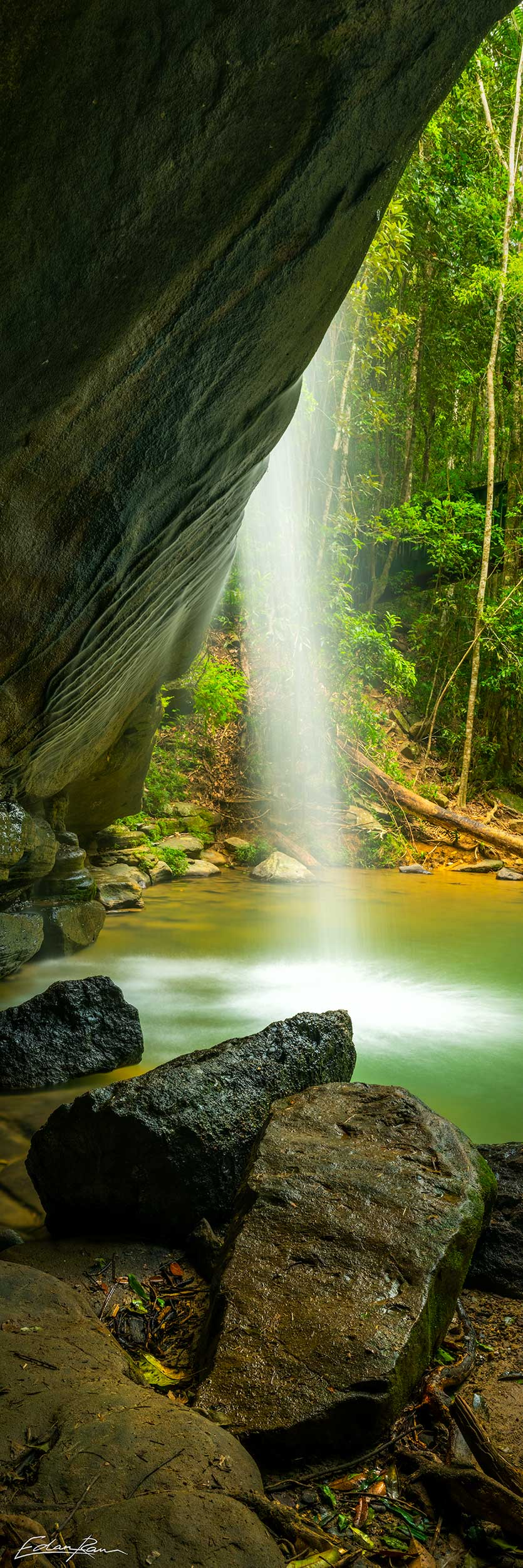 buderim waterfall photography