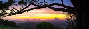 sunshine coast land scape photography glass house mountains