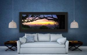 australian landscape photo glass house mountains