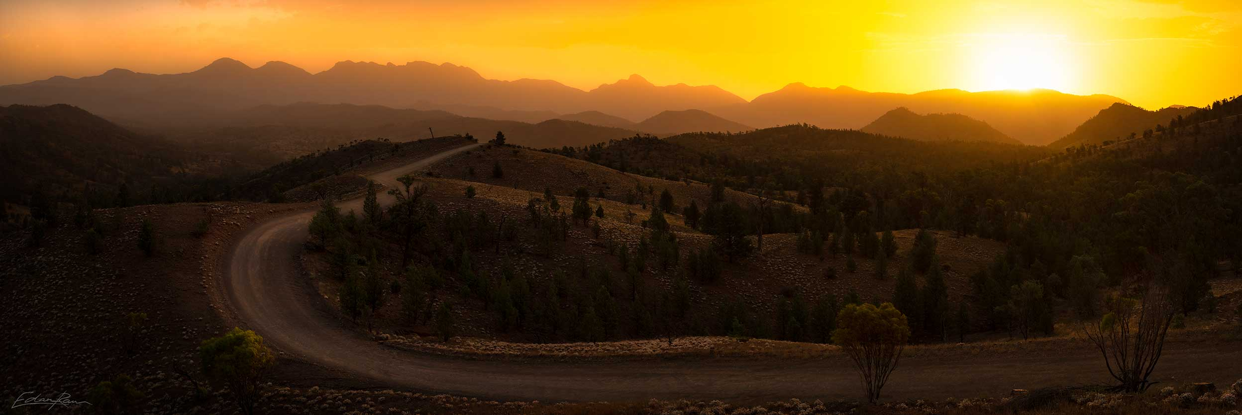 flinders ranges south austrlain landscape photography