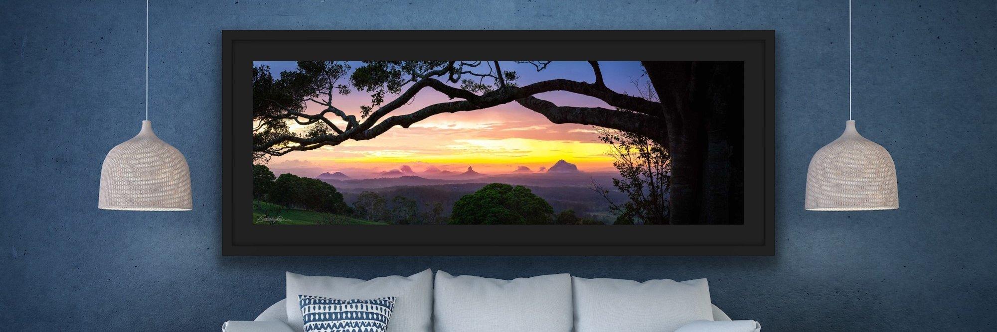 landscape photography glass house mountains queensland australia sunshine coast