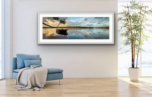 noosa river landscape sunset photo