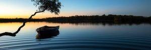 noosa river sunset landscape photo