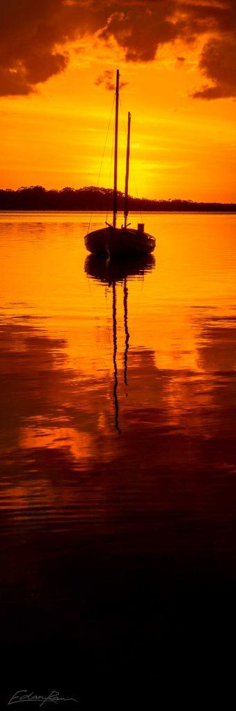 maroochy river boat photograph